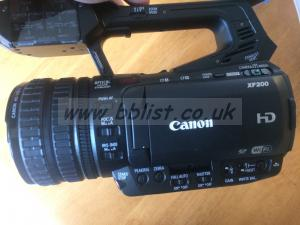 CANON XF 200 Camcorder MINT