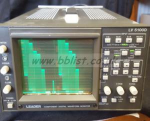 Leader LV5100D WFM