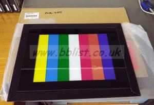 Sony PTB-450 Colour test chart