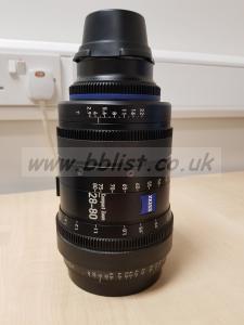 Carl Zeiss CZ2 28-80 T2.9 PL mount CineZoom camera lens