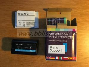 Sony BP-U30 battery, excellent condition, boxed