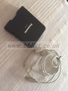Panasonic P2 card reader: AJ-PCD2G