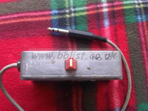 Headphone track selector box