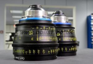 Zeiss Ultra 16 lenses - 8mm, 9.5mm, 12mm, 14mm & 18mm