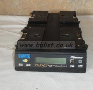 Anton Bauer Interactive 2000 4 way Battery Charger