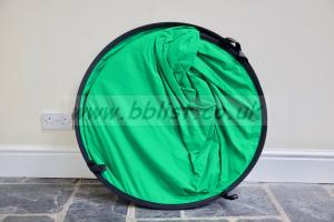 2m x 1.5m collapsible Chromakey