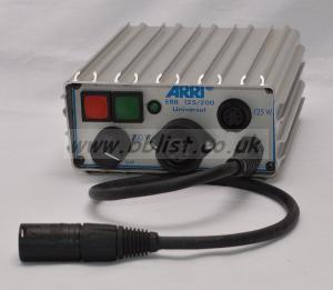 Arri 125/200 Watt DC Ballast