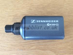 Sennheiser SKP 300 G3 Plug on Transmitter