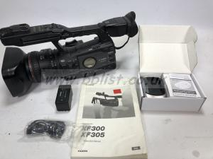 Canon XF305 camera
