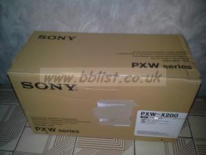SONY PXW X200