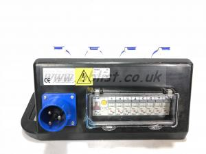 Rubber box RUBTR1 32AMP distribution box