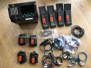 4 x Audio Ltd 2020 Radio Mic kit