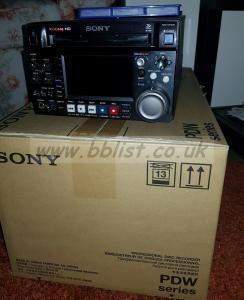 SONY PDW HD1500