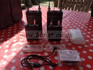 Lectrosonics dual UCR 211 kit