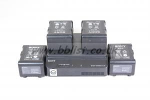 4 x BP-FL75 with BC-L90 Charger