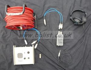 Complete 2-way 4-wire Talkback System