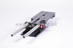 USBP-15D 15mm universal shoulder baseplate balance dovetail