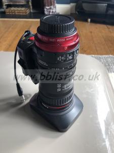 Canon 18-80mm cine lens T4