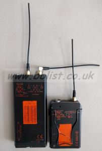 AUDIO 2040 RADIO MIC TRANSMITTER + RECEIVER (606 Band)