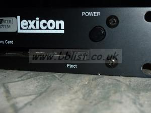 Lexicon PCM 91 Digital Reverb in excellent condition