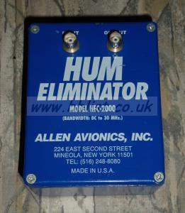Video Hum Eliminator