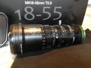 Fujinon 18-55mm T 2.9 Cine Lens Sony E Mount