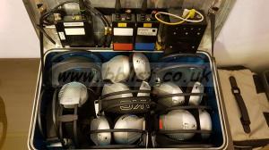 Black Box video + AKG headphones (full ch 70 IFB/IEM system)