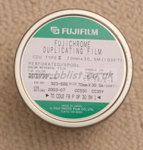Fujichrome Duplicating Film 70mm x 100ft (30m)