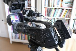 Sony EX3 HD Camcorder with Fujinon XS 8x4 Lens