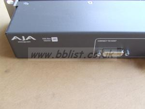 AJA K3G-Box -ROM SDI 4 WAY InPut. AES/EBU output.   VNCond.
