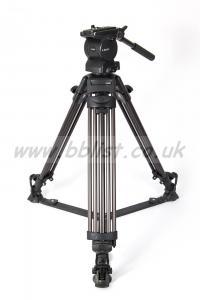 Libec Tripod: RT30B 2-Stage Aluminium Legs, RH35R Fluid Head