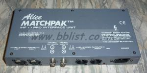 Alice Matchpak Pro Interface Unit