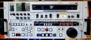 VTR Betacam editor BCB75 recorder/player Front of machine