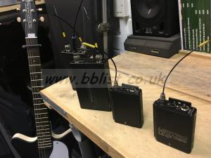 2 x Letrosonic U200/D Radio System