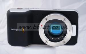 Blackmagic Pocket Cinema Camera.  BMPCC
