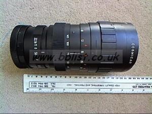 "Large 10:1 ""C"" Mount Zoom Lens"