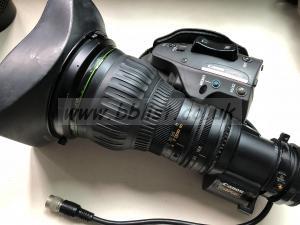 Canon J22 x 7.6 wrsd sx12 B4 2/3 Broadcast Lens