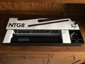 RODE NTG8 Broadcast Microphone