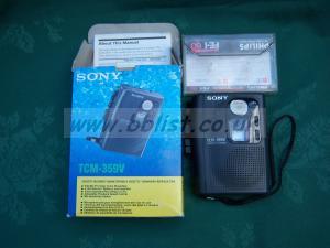 Sony Cassette recorder TCM 359V