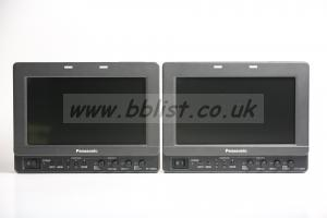 Panasonic LH-80 Monitors x 2