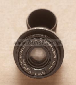 "Cooke Anastigmat 1"" (25mm) lens in d-mount"