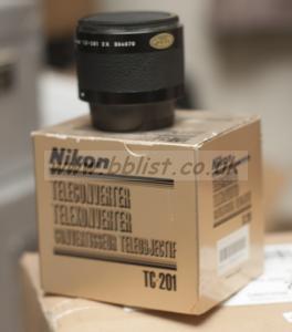Nikon Teleconvertor  TC-201