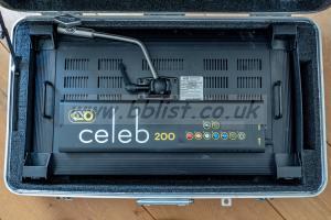 Kino flo celeb 200 LED light and case