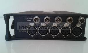 USED SOUND DEVICES 552 SOUND MIXER AND RECORDER FOR LOCATION