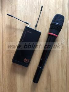 Audio Ltd Hand Held Radio Mic