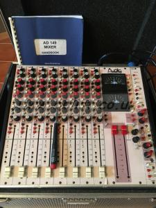 Audio Developments AD149 8ch. Mixer 8 direct outs on PFL