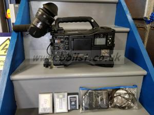 Panasonic AJ-HDX3100G Camera + P2 Cards/Reader