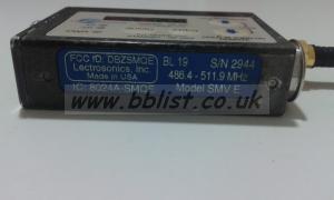 LECTROSONICS SMV TRANSMITTER BLOCK 19