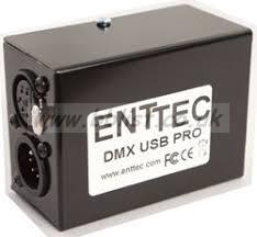 ENTEC LASER DMX CONTROLLER