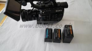 Sony PXW FS5 and 18-105 Kit Lens